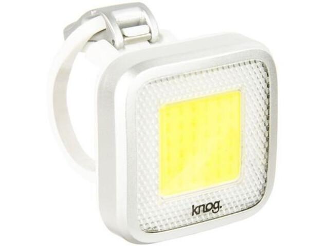 Knog Blinder MOB Mr. Chips LED-Koplamp, white/silver